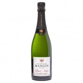 Champagne mangin et fils nature brut, spumant 0.75l
