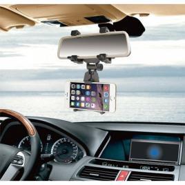 Suport pentru telefon, la oglindă retrovizoare auto, suport pentru telefon...