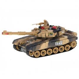Tanc militar de lupta 9995 cu telecomanda, galben