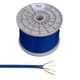 Cablu 2rca 3mm albastru rola