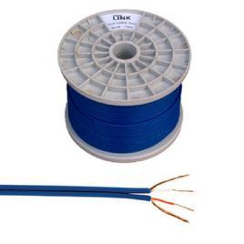 Cablu 2rca 4mm albastru rola