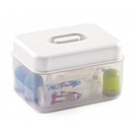 Sterilizator biberoane microunde / la rece lily white - thermobaby
