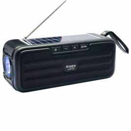 Boxa portabila cu incarcare solara l8td bluetooth, usb, radio, lanterna