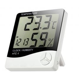 Termometru de camera cu ceas lcd, senzor umiditate