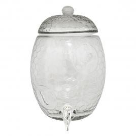 Recipient lichide cu robinet din sticla transparenta Ø 17 cm x 35 h