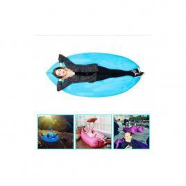 Saltea gonflabila tip sezlong portabila, cloud lounger, ideal...