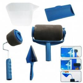 Set trafaleti pentru vopsit zugravit + rezervor paint roller si brat extensibil