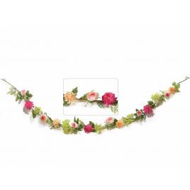 Ghirlanda flori artificiale 220 cm