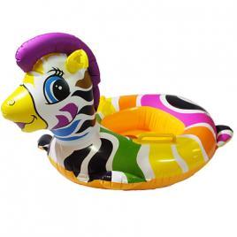 Colac inot gonflabil animal zebra cu manere DEK6004
