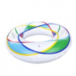 Colac inot gonflabil olimpic cu manere diametru 90 cm DEK1090