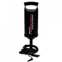 Pompa aer pentru produse gonflabile, manuala, cu furtun + 3 adaptoare 36 cm DEK100