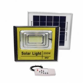 Proiector solar led 60 100 200 300 w, panou solar, telecomanda