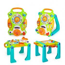 Centru activitati 3 in 1 Hola Toys, cu functie de antemergator