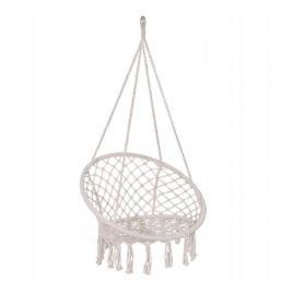 Leagan tip scaun, bej, max 150 kg, 79x80x120 cm