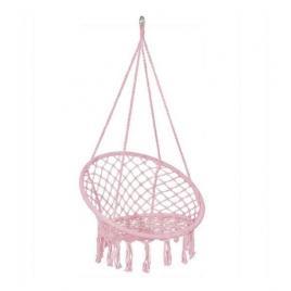 Leagan tip scaun, roz, max 150 kg, 79x80x120 cm