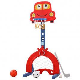 Set 2 in 1 baschet si fotbal Magic Car