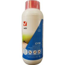 Insecticid profesional CY 10 concentrat pentru tantari gandaci muste tantari tigru si alte insecte taratoare 1 L