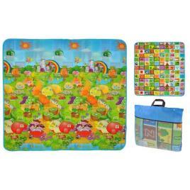 Covoras Termic Interactiv Educational cu Fructe, Legume si Litere pentru Copii, Dimensiuni 180x200cm