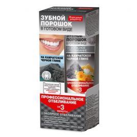 Pasta de dinti efect de albire cu argila neagra de Kamceatka 45 gr, Fito Cosmetic