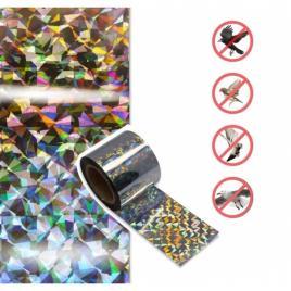 Set 2 role de banda holografica, impotriva pasarilor, 5cmx35m