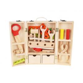 Trusa de scule educationala pentru copii din lemn
