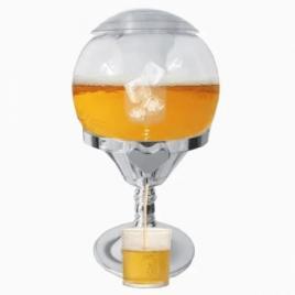 Dozator de bauturi refrigerant cu suport de gheata