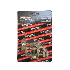 Set 2 borne baterie auto breckner plus si minus cu clema de fixare pentru tractoare si alte vehicole kft auto