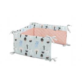 Protectie interioara de plus patut sensillo karo 180x30 cm caprioare
