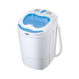 Mini masina de spalat haine rufe mesko, capacitate 3kg, putere 400w, functie stoarcere, portabila, recomandata pentru calatorii sau camping