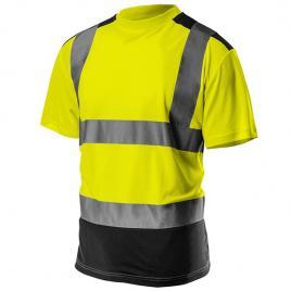 Tricou de avertizare galben/negru nr.l/52 neo tools 81-730-l