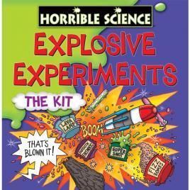 Horrible science - kit experimente explozive