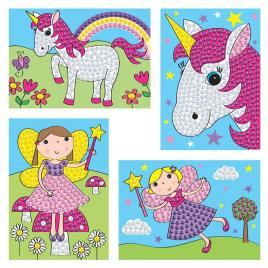 Set creativ - zane si unicorni