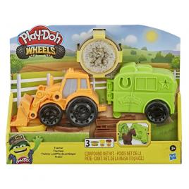 Set play-doh wheels tractor