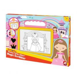 Tabla magnetica magic scribbler princess