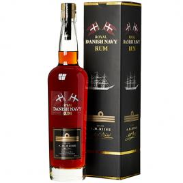 A.h. riise royal danish navy rum, rom 0.7l