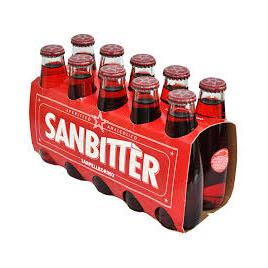 Analcoolic san bitter rosso10cl x10