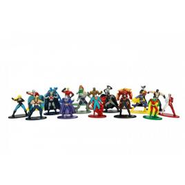 Set 20 de figurine metalice cu eroii dc si figurina black canary inclusa