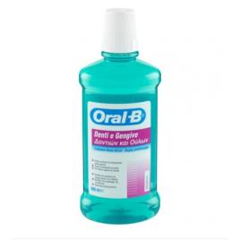 Apa de gura  fara alcool oral b cu menta 500ml