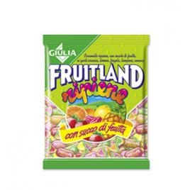 Bomboane umplute cu suc de fructe fruitland 300g