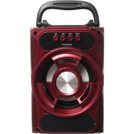 Boxa portabila bluetooth, disco, cu lumini, USB, card si radio - KTS 857
