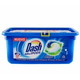 Dash detergent ecodosi pods 3 in 1 regular 27 spalari