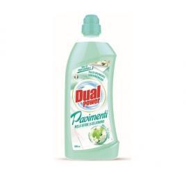 Detergent pardoseli dual power cu măr verde și iasomie 1000ml