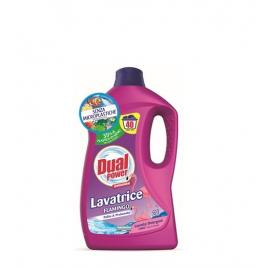Detergent lichid italian pentru rufe dual power flamingo 2 litri - 40 utilizari