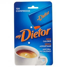 Indulcitor italan fara aspartam, 0 calorii mydietor - 120 pastile x 6 g