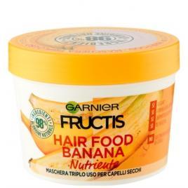 Masca nutritiva pentru par uscat 3 in 1 banana hair food garnier fructis, 390 ml