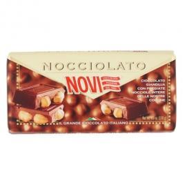 Novi tableta de ciocolata gianduja cu alune intregi  - nocciolato gianduja 130g