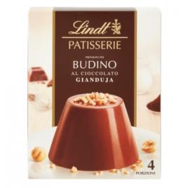 Preparat pentru budinca de ciocolata gianduja lindt  patisserie 95g - 4 portii