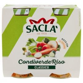Salata italiana de legume pentru orez condiverde riso sacla 2 bucx290g