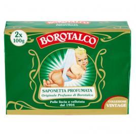 Sapun solid parfumat borotalco vintage 2 buc x 100g