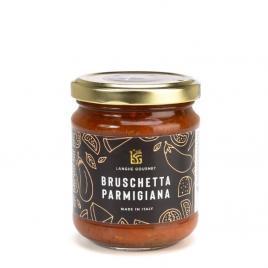 Sos bruschetta parmigiana cu vinete si branza langhe gourmet 180g